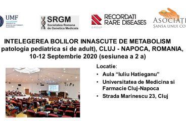 Sesiunea a doua a Simpozionului din 10 – 12 Septembrie 2020